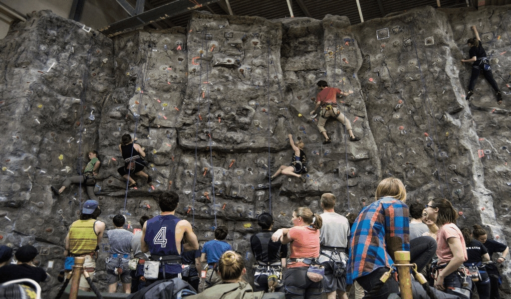 The Core Key on Majestic Sports Rock Climbing Olympics Found