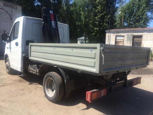фургон для вывоза лома