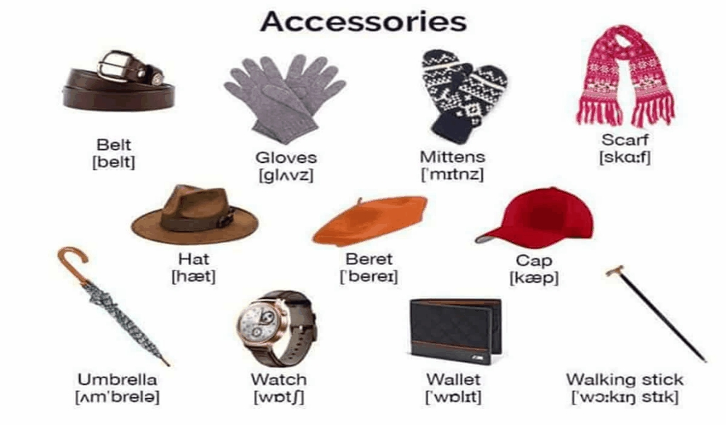 List of Handmade Stitching Creation Accessories