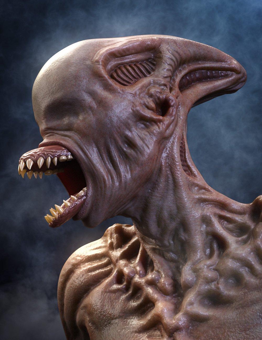 Mutation morphs HD for Genesis 8 Female