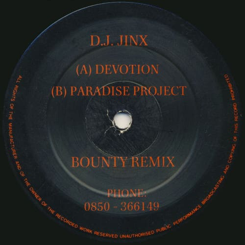 Download DJ Jinx - Devotion / Paradise Project mp3
