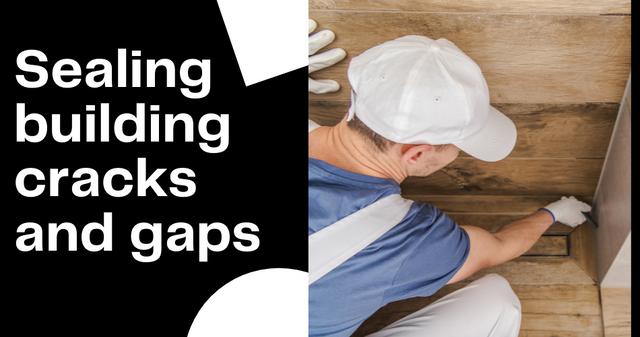 Sealing-building-cracks-and-gaps
