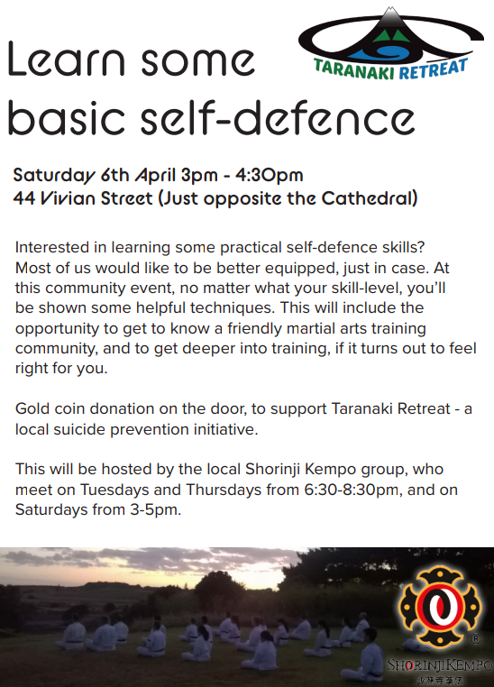 Self Defence Event
