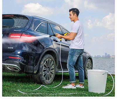Flush car anywhere