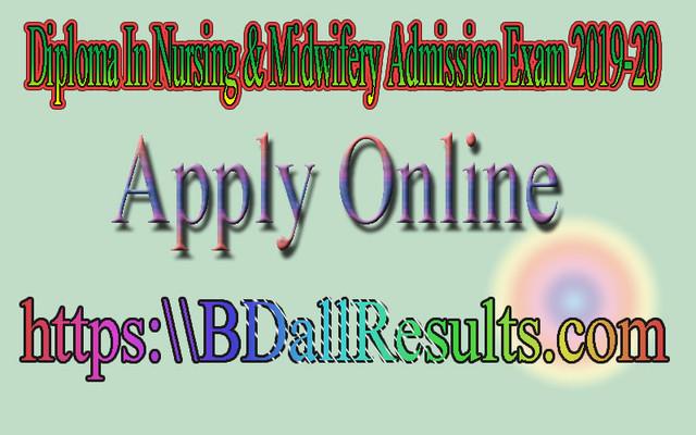 Diploma-nursing admission 2019-20