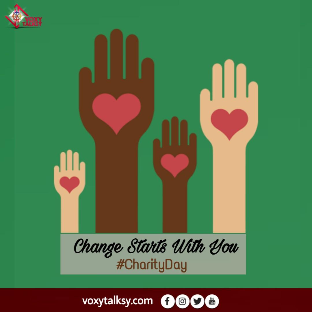 International Charity Day 2020 | VoxyTalksy