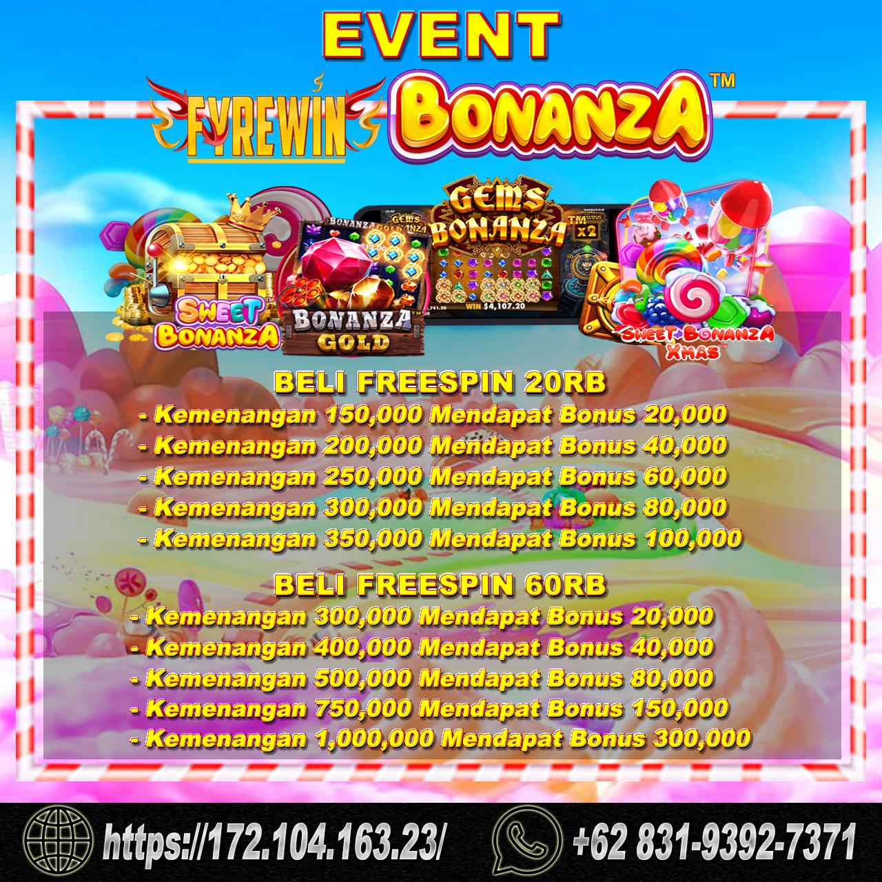 EVENT BONANZA PARTY