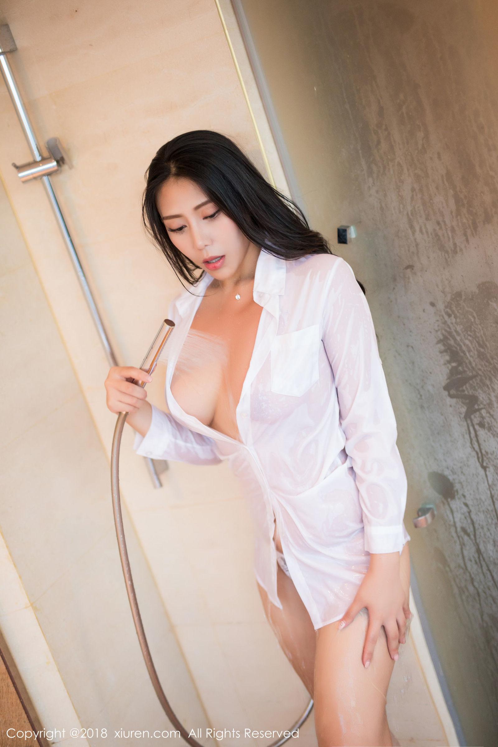 [XiuRen秀人] No.1255 安可儿 - 极致湿身魅惑