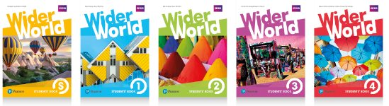 Wider World Starter,1-2-3-4