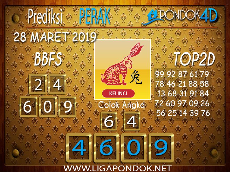 Prediksi Togel PERAK PONDOK4D 28 MARET 2019