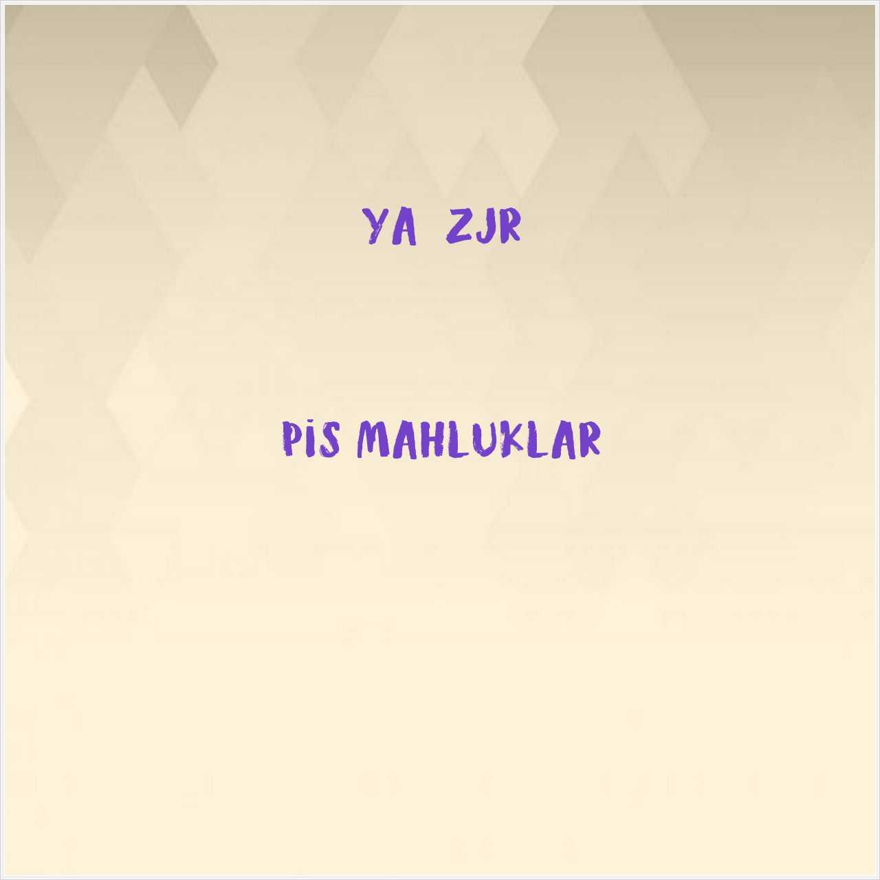 دانلود آهنگ جدید YağızJR به نام Pis Mahluklar