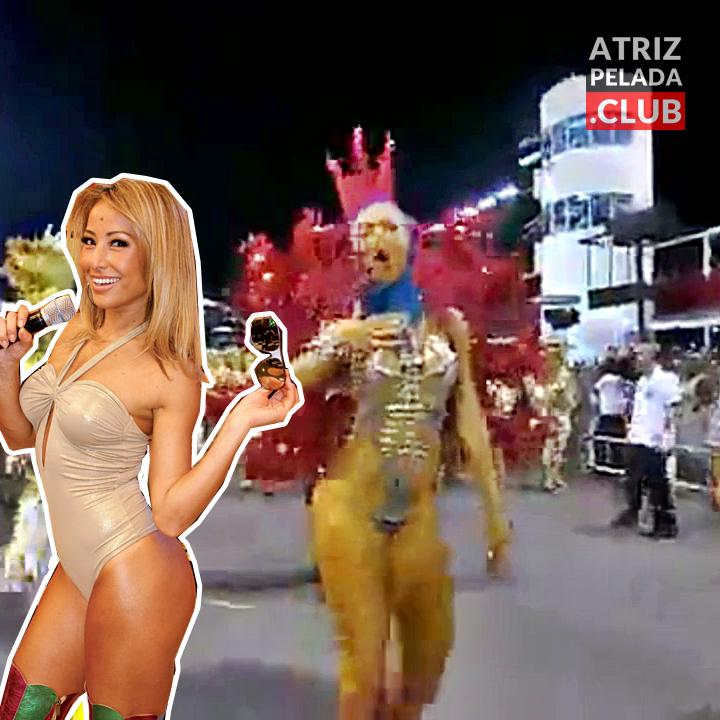 Sabrina Sato toda gostosa em desfile de escola de samba