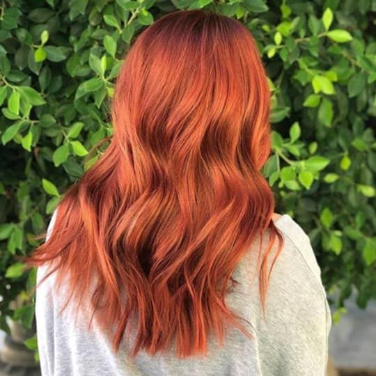 Burnt Sienna -hair-color