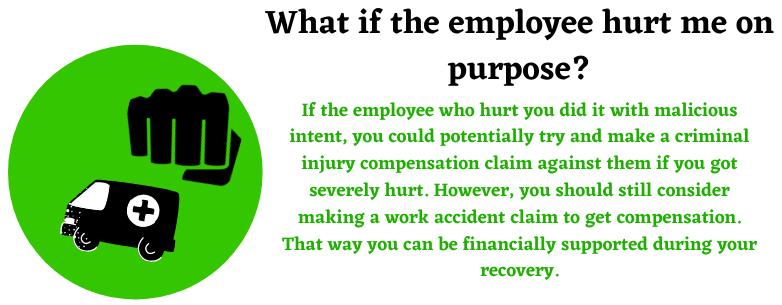 criminal injury compensation and work compensation help