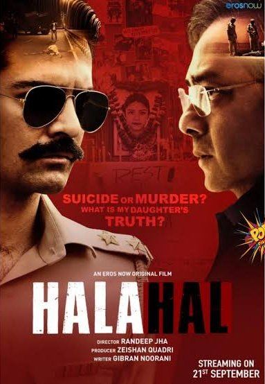 Halahal 2020 Hindi 720p HDRip ESubs 700MB | 300MB Download