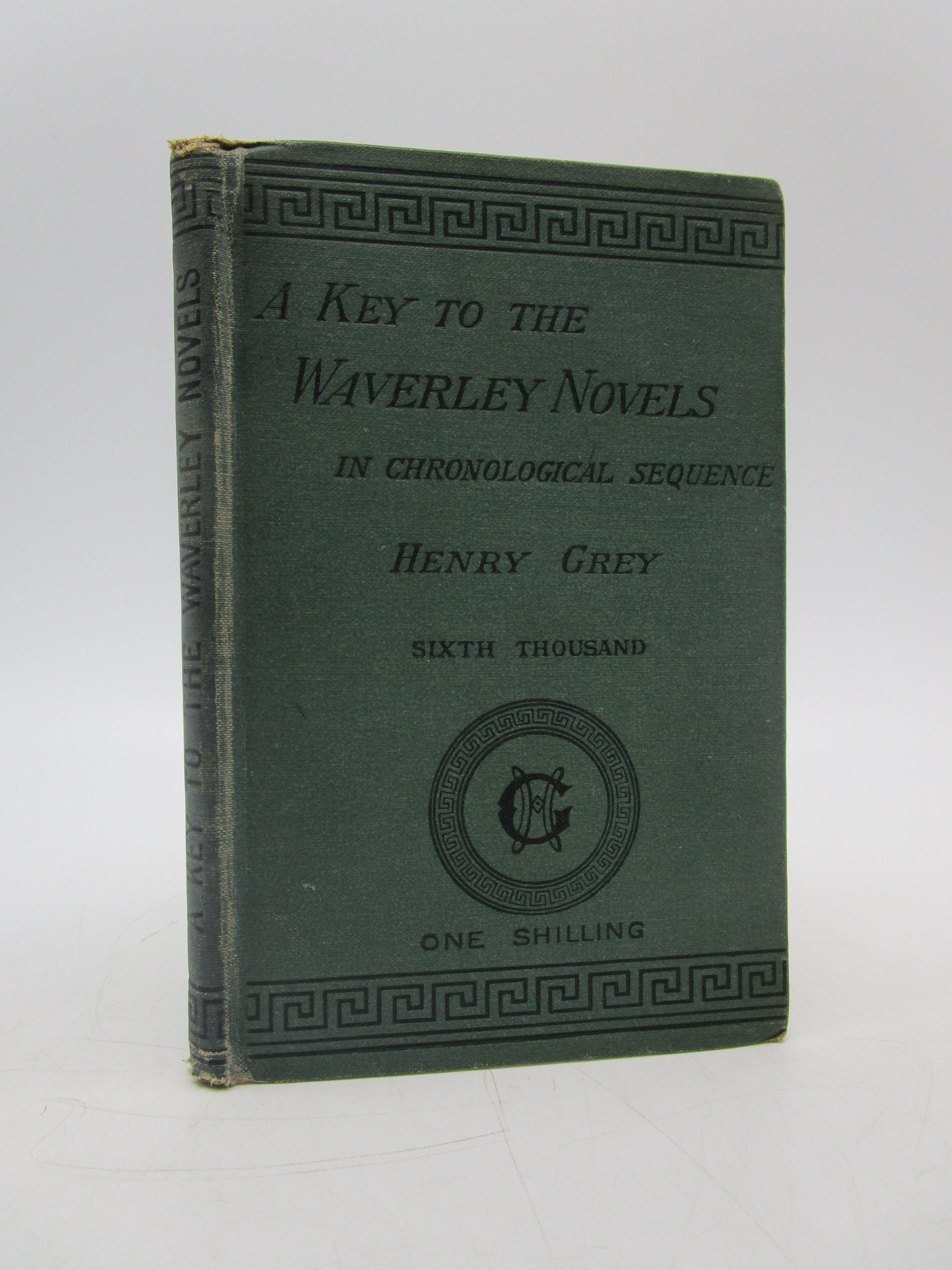 Image for A Key to the Waverley Novels, in Chronological Sequence, with Index of the Principal Characters