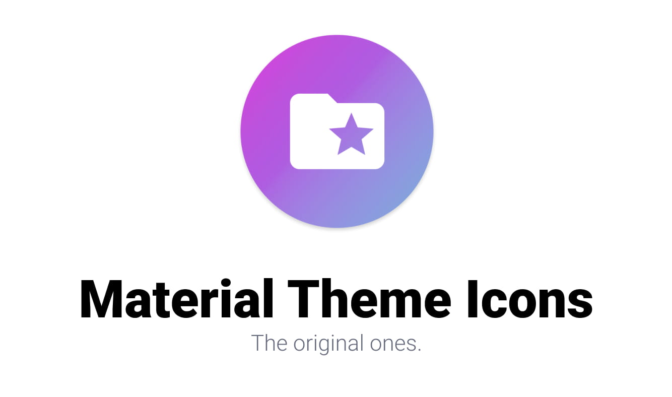 Material Theme Icons