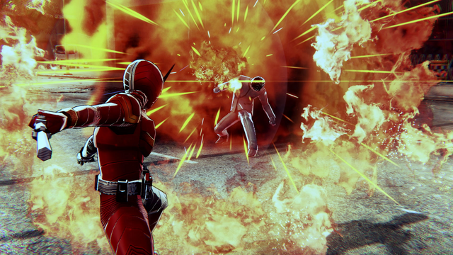 《假面騎士 英雄尋憶》公開一組新遊戲截圖,展示了遊戲中假面騎士W的部分可切換形態! Image