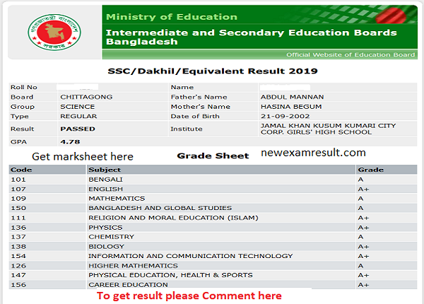 SSC-Result-2020-Dhaka-Board