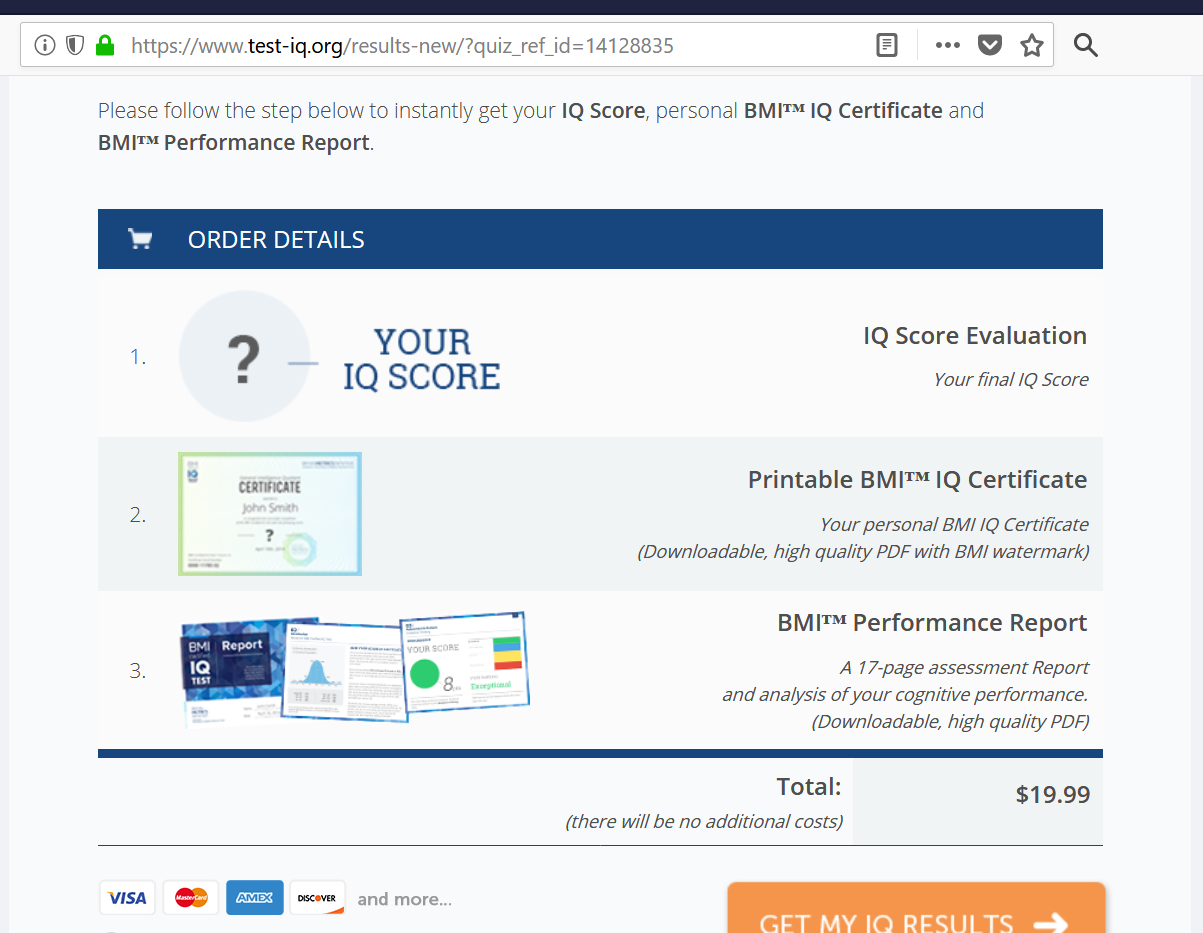 Take this IQ test and post your score | Page 7 | Sherdog Forums