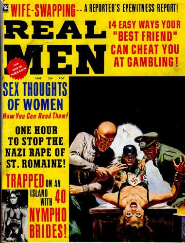 Cover: Real Men Vol 11 No 04 August 1967