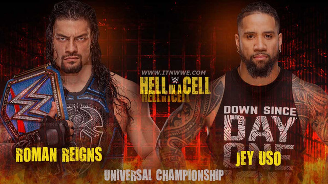 Roman Reigns (c) vs. Jey Uso
