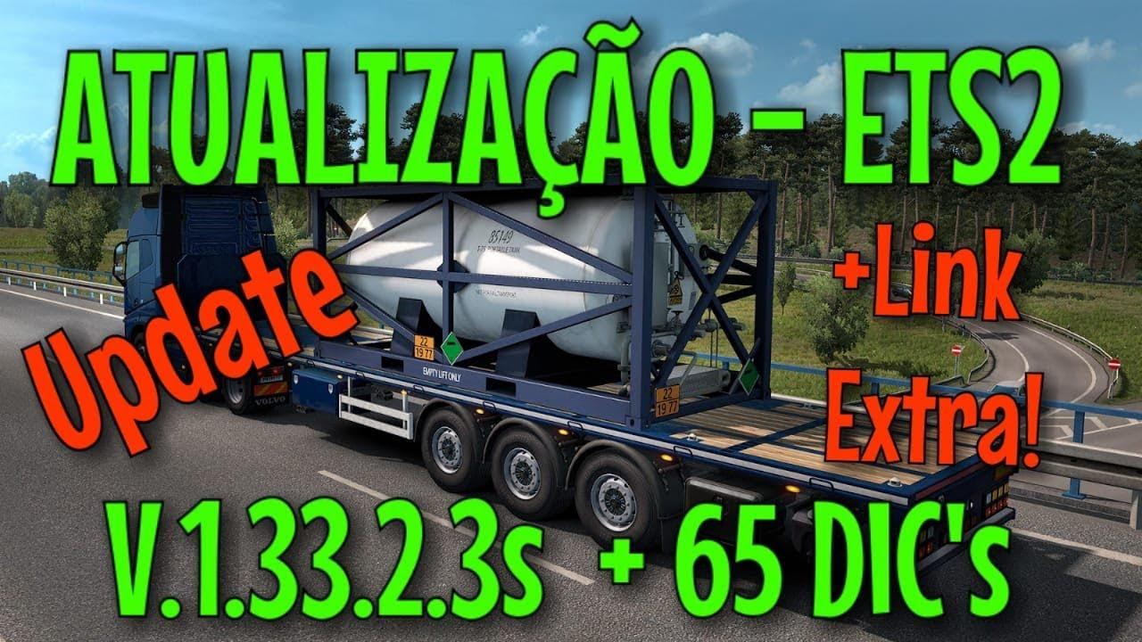 Euro Truck Simulator 2 v 1 33 2 3 + 65 DLC MULTi35 PC FREE