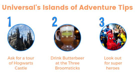 Universal's Islands of Adventure tips