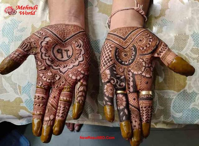 Wedding Mehedi Design