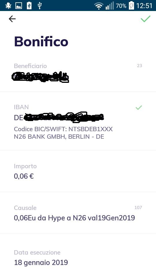 N26 10,00€ +20,00€ e addio spese su acquisti all'estero + Scegli tu il PIN Carta! Mastercard Gratis. N26-da-hype-1