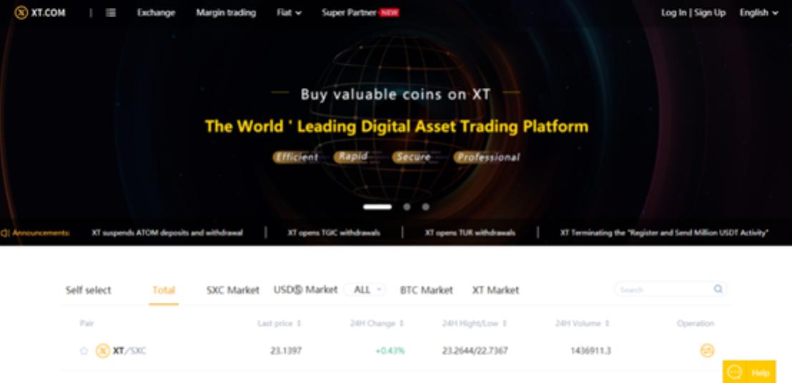 2 BNS-Token zur weiteren Entwicklung auf XT.COM gelistet