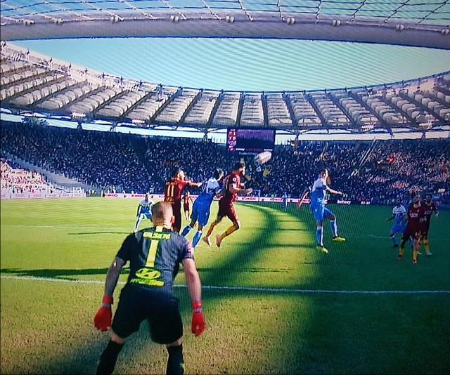 rigore per la Lazio fischiato fallo in attacco