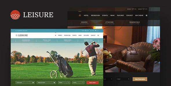 ThemeForest - Hotel Leisure v2.1.13 - WordPress Theme - 9252201