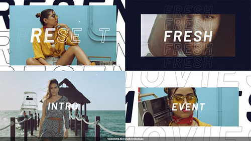 Modern Fashion Opener 32459800 - Project for After Effects (Videohive)