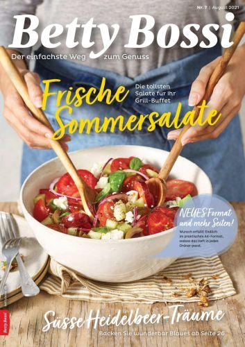 Cover: Betty Bossi Genussmagazin August No 07 2021