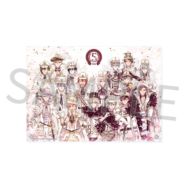 限時復刻!《IDOLiSH7-偶像星願Second BEAT!》x《MyAnime Café》6/4閃亮回歸 日本動畫+5週年紀念活動限定商品抵台 5th-Anniversary-event