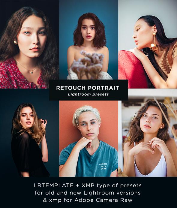 27 Portrait Retouch Presets