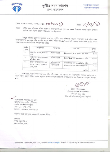 ACC-Exam-Date-And-Admit-Download-Notice-2019-PDF-1