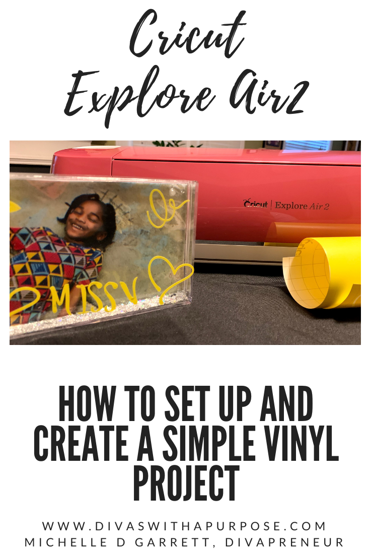 How to set up your @cricut Explore Air2 and create a simple vinyl project #ad #cricutcreated  The Blush Cricut Explore Air2 can be purchased exclusively at @hobbylobby
