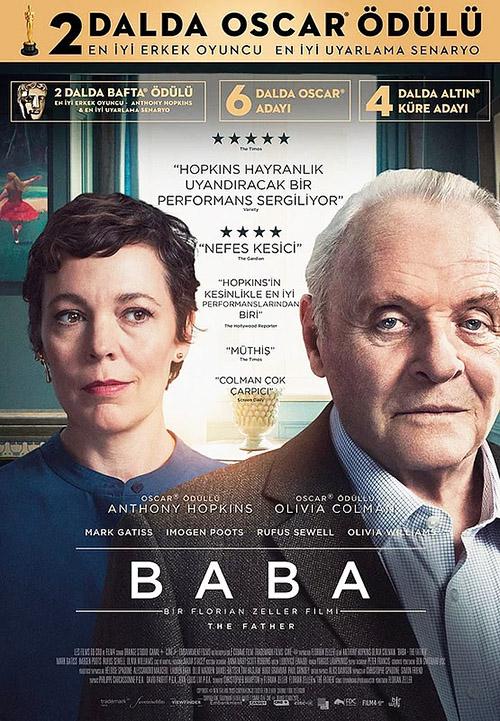 Baba | The Father | 2021 | m720p - m1080p | BluRay | Türkçe Altyazılı | Tek Link