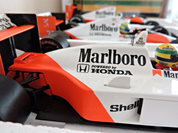 Senna World Champion Cars 1988,90,91 4