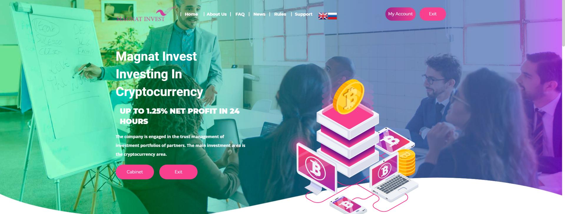 magnat-invest.comis SCAM or LEGIT?