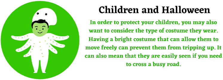 children, personal injuries and halloween