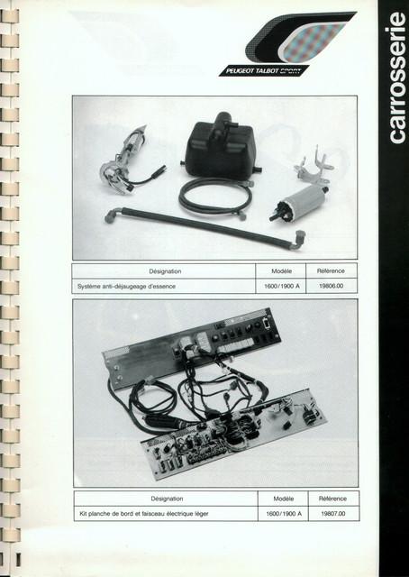 Catalogue PTS pièces compétition - 205 GTI 1600-1900 gr. N/A PTS-Carrosserie-5