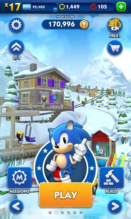 Sonic Dash (MOD, Currency/All Characters)