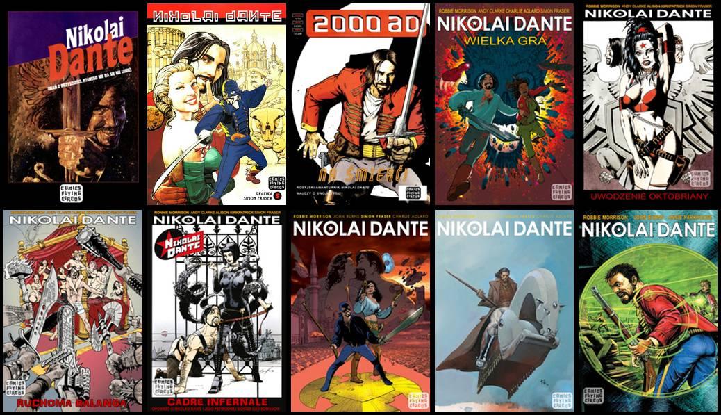 Nikolai Dante #1-11