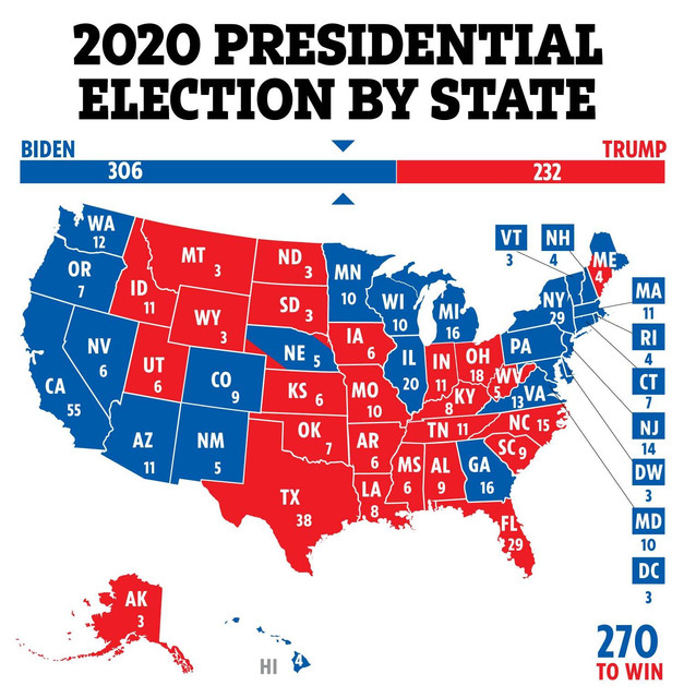 US-ELECTION-DAY-MAP-WINNER