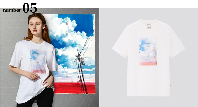 UNIQLO X EVANGELION 推出8件合作T-shirt 05