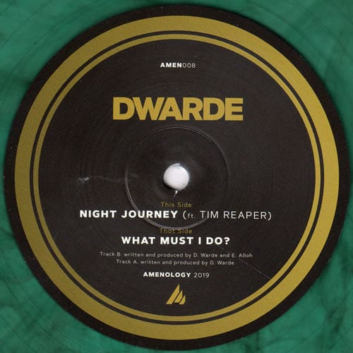 Dwarde - What Must I Do? / Night Journey