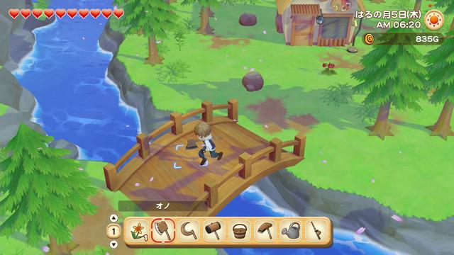 「牧場物語」系列首次在Nintendo Switch™平台推出全新製作的作品! 『牧場物語 橄欖鎮與希望的大地』 決定於2021年2月25日(四)發售! 005